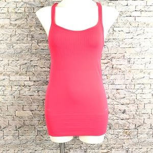New Nike Dri Fit Coral Pink Racer Back Tank Top